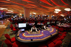 chute casinos macao