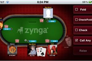 chute poker mobile
