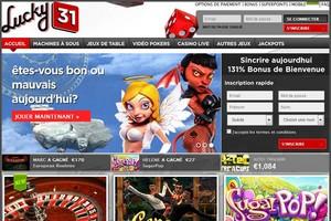 jeux lucky 31 casino